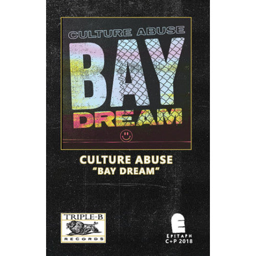 "TRIPB91-4 Culture Abuse ""Bay Dream"" Cassette Album Artwork"