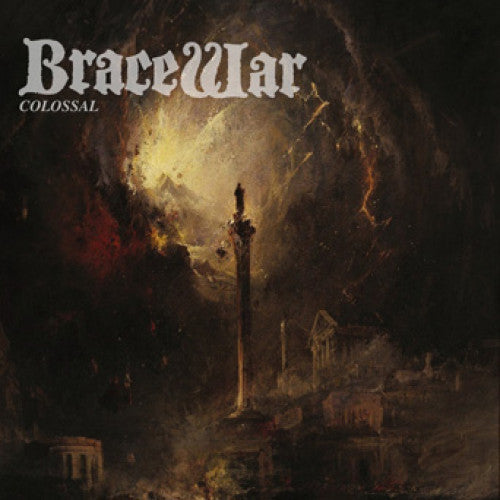 "TRIPB92-1 Bracewar ""Colossal"" 7"" Album Artwork"