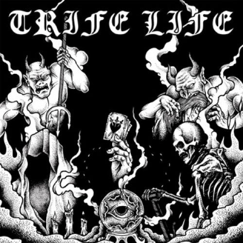 "UBR005-2 Trife Life ""s/t"" CD Album Artwork"