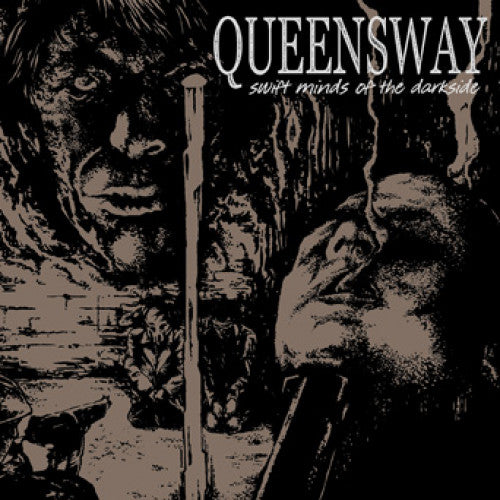 "UBR010-2 Queensway ""Swift Minds Of The Darkside"" CD Album Artwork"