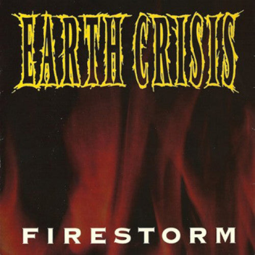 "VIC012-1 Earth Crisis ""Firestorm"" 7"" Album Artwork"