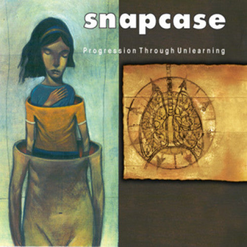 "VIC051-1 Snapcase ""Progression Through Unlearning"" LP Album Artwork"
