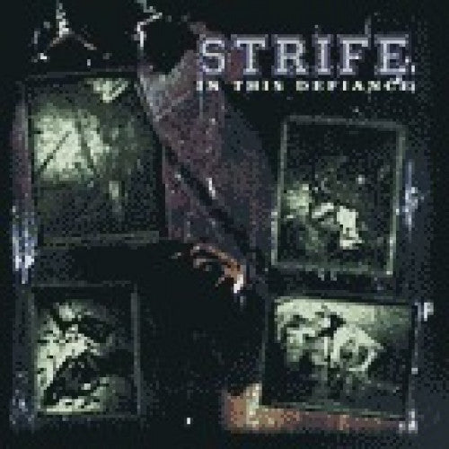 "VIC054 Strife ""In This Defiance"" LP/CD Album Artwork"