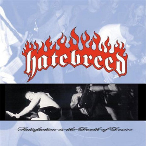 "VIC063-1 Hatebreed ""Satisfaction Is The Death Of Desire"" LP Album Artwork"