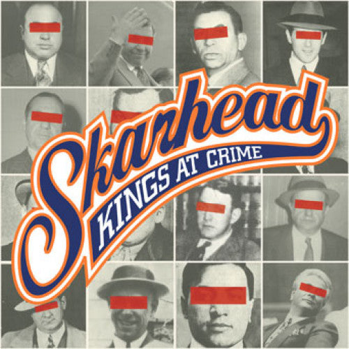 "VIC089 Skarhead ""Kings At Crime"" LP/CD Album Artwork"