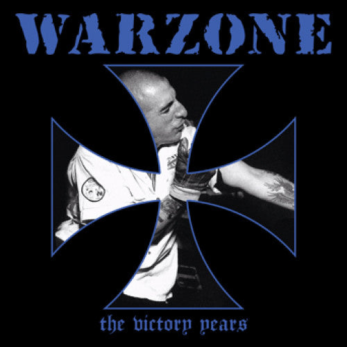 "VIC099-1 Warzone ""The Victory Years"" LP Album Artwork"