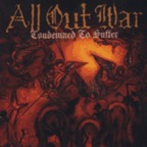 "VIC126-1 All Out War ""Condemned To Suffer"" LP Album Artwork"
