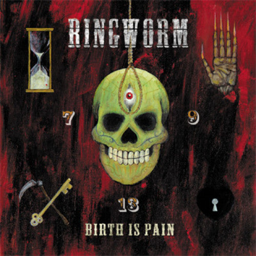 "VIC167-1 Ringworm ""Birth Is Pain"" LP Album Artwork"
