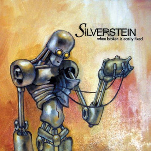 "VIC192-1 Silverstein ""When Broken Is Easily Fixed"" LP Album Artwork"