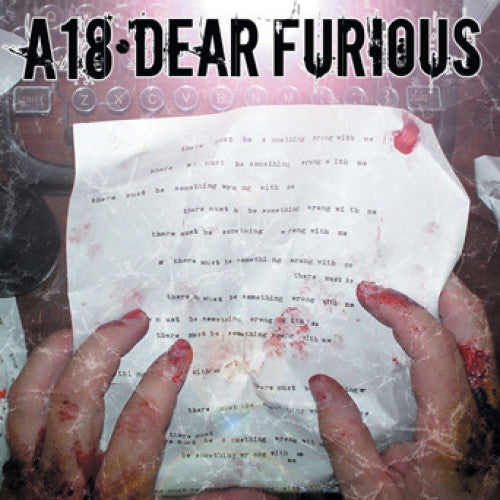 "VIC225-1 A18 ""Dear Furious"" LP  Album Artwork"