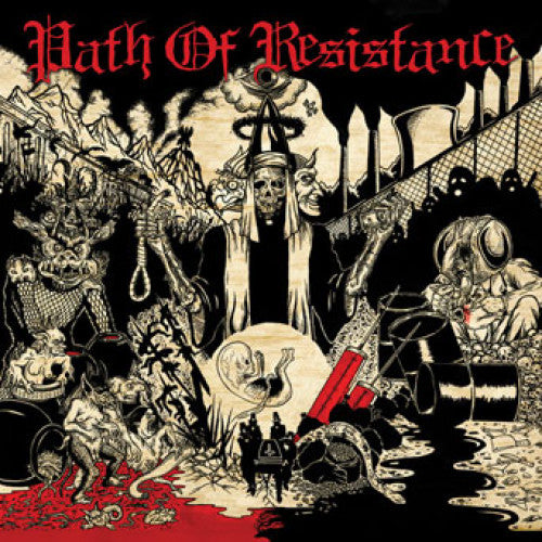 "VIC255-1 The Path Of Resistance ""Can't Stop The Truth"" LP Album Artwork"