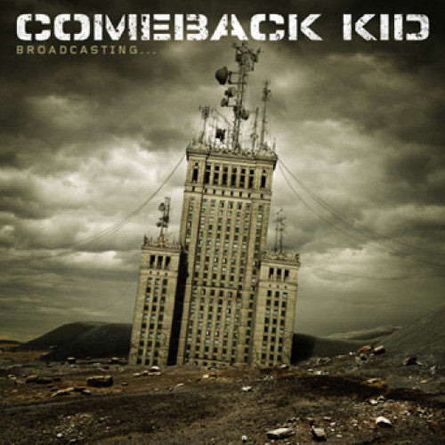 "VIC323-1 Comeback Kid ""Broadcasting..."" LP Album Artwork"