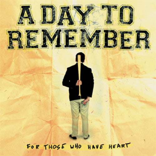 "VIC337-1 A Day To Remember ""For Those Who Have Heart"" LP Album Artwork"