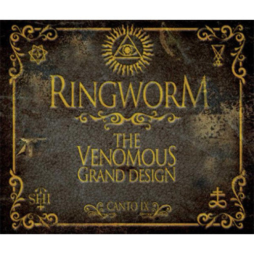 "VIC376-1 Ringworm ""The Venomous Grand Design"" LP Album Artwork"