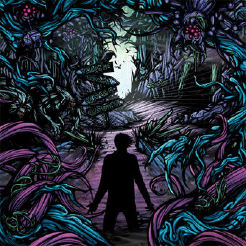 "VIC448-1 A Day To Remember ""Homesick"" LP Album Artwork"