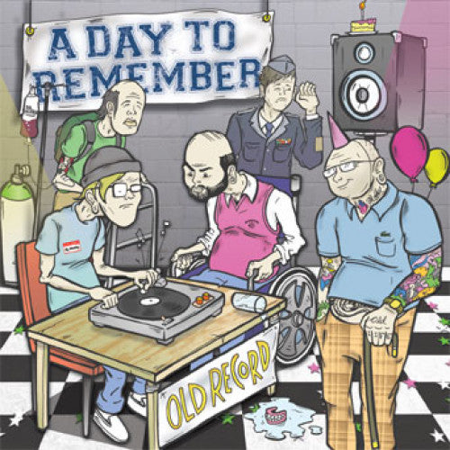 "VIC494-1 A Day To Remember ""Old Record"" LP  Album Artwork"