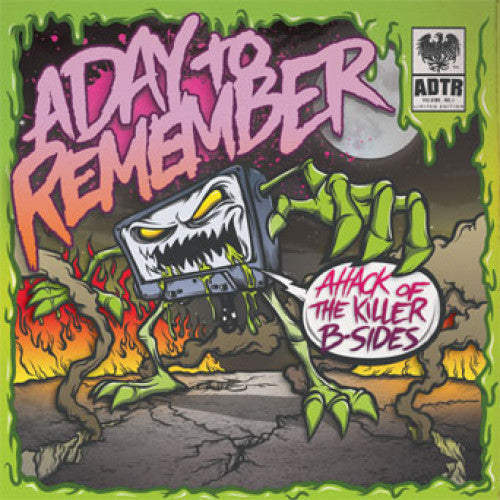 "VIC570-1 A Day To Remember ""Attack Of The Killer B-Sides"" 7"" Album Artwork"