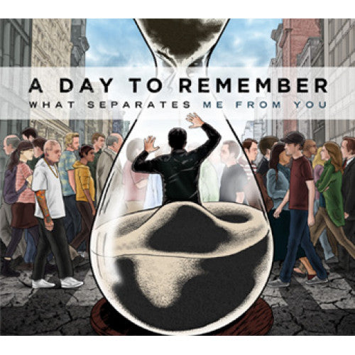 "VIC603-1 A Day To Remember ""What Separates Me From You"" LP Album Artwork"