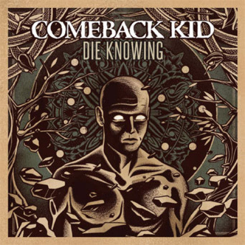 "VIC702-1 Comeback Kid ""Die Knowing"" LP Album Artwork"