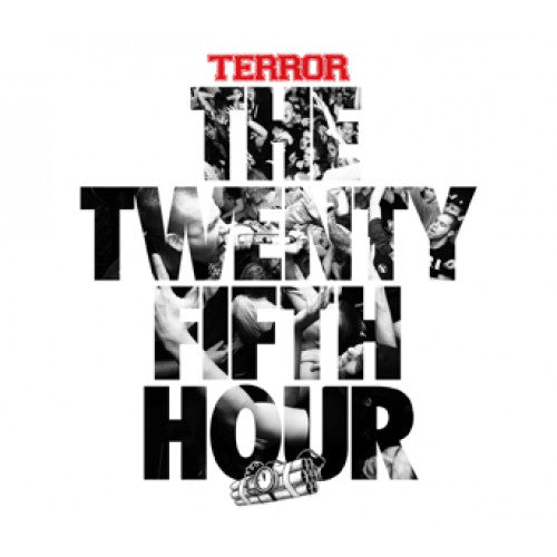 "VIC725-2 Terror ""The Twenty Fifth Hour"" CD Album Artwork"