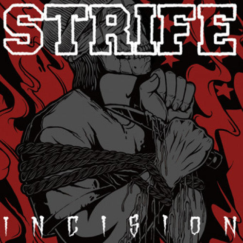 "WAR001-2 Strife ""Incision"" CD Album Artwork"