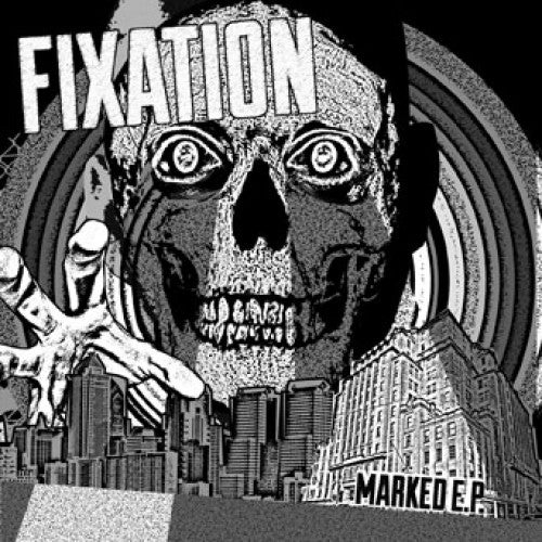 "WAR009-1 Fixation ""Marked"" 7"" Album Artwork"