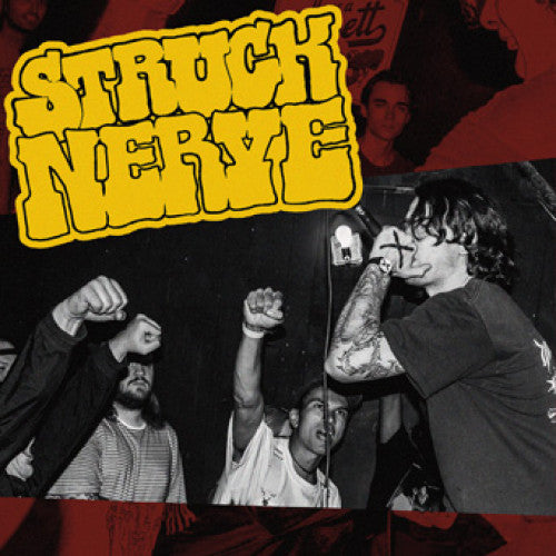 "WAR010-1 Struck Nerve ""s/t"" 7"" Album Artwork"