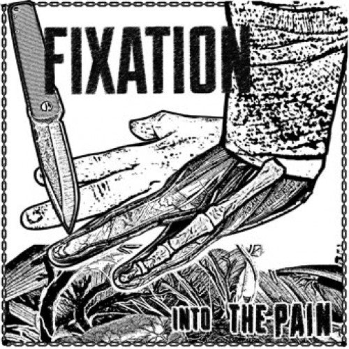 "WAR011/A-1 Fixation ""Into The Pain"" 7"" - Flexi Disc Album Artwork"