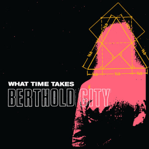 "WAR012-1 Berthold City ""What Time Takes"" 7"" Album Artwork"