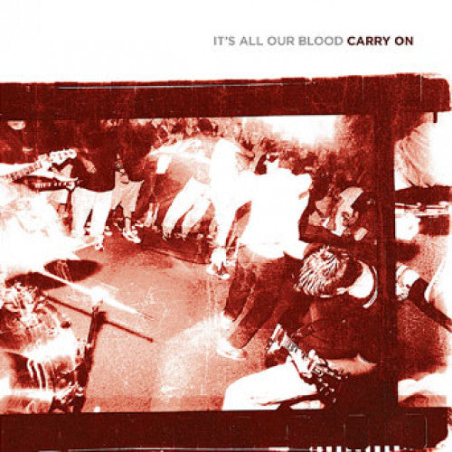 "YB05-2 Carry On ""It's All Our Blood"" CD Album Artwork"