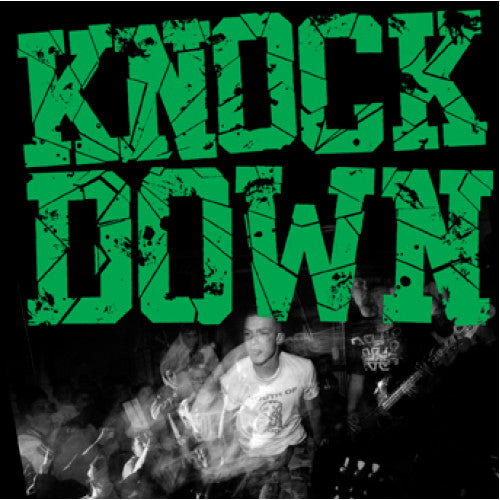 "YB12-2 Knockdown ""s/t"" CD Album Artwork"