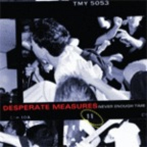 "YB17-2 Desperate Measures ""Never Enough Time"" CD Album Artwork"