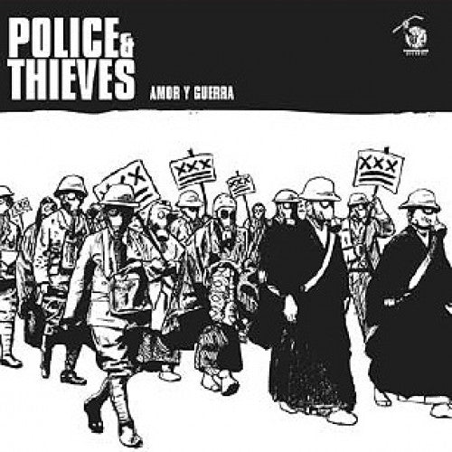 "YB25-2 Police & Thieves ""Amor Y Guerra"" CD Album Artwork"