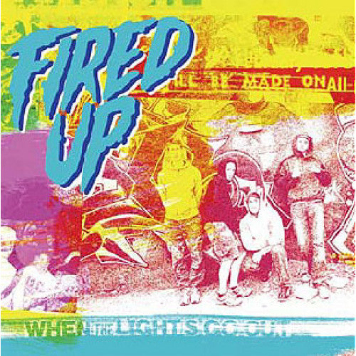 "YB26-2 Fired Up ""When The Lights Go Out"" CD Album Artwork"