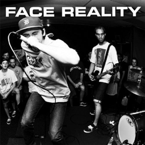 "YB37-1 Face Reality ""s/t"" 7"" Album Artwork"
