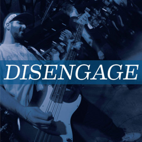 "YB41-1 Disengage ""s/t"" 7"" Album Artwork"