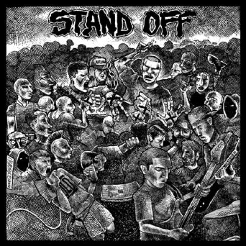 "YB43-1 Stand Off ""s/t"" 7"" Album Artwork"