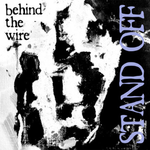 "YB44-1 Stand Off ""Behind The Wire"" 7"" Album Artwork"