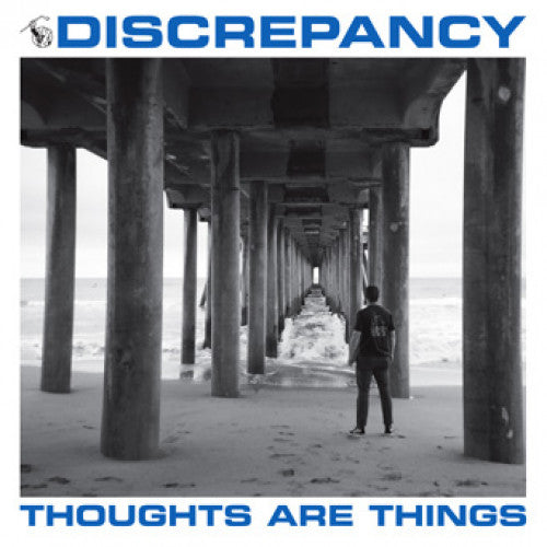 "YB45-1 Discrepancy ""Thoughts Are Things"" 7"" Album Artwork"