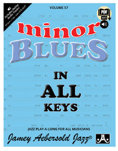 Volume 57 – Blues in All Minor Keys