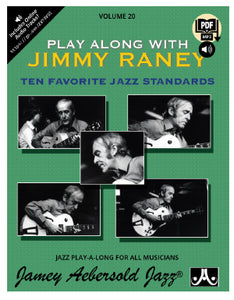 Volume 20 – Play Along with Jimmy Raney