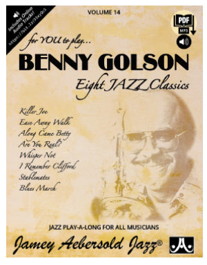 Volume 14 – Benny Golson – Eight Jazz Classics Description