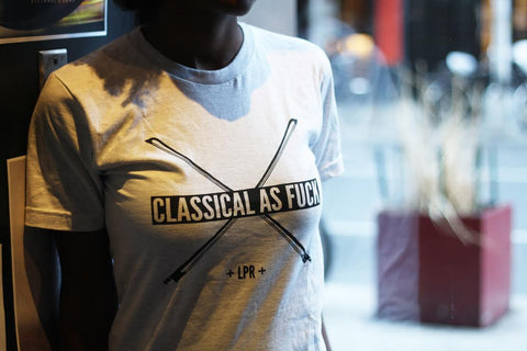 """Classical as Fuck"" T-shirt"