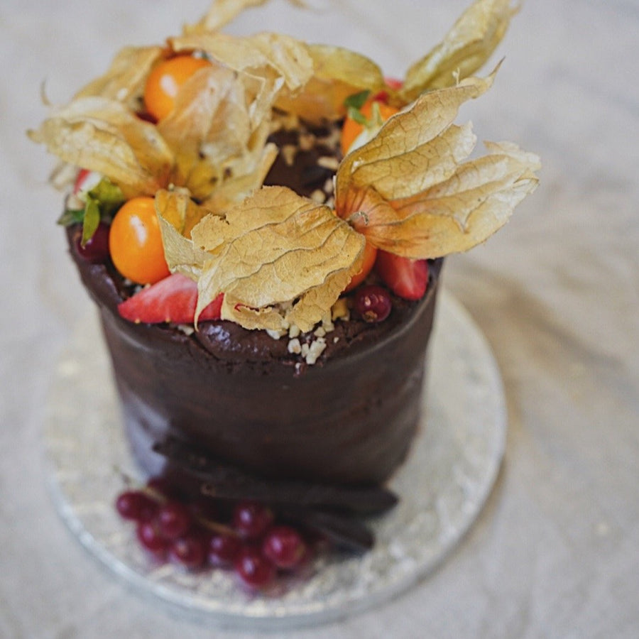 Hazelnut & Chocolate Cake