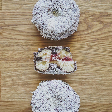 Lamington Donut - Box of 6 or 12