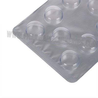 Jihan3 14.5mm Round tablet Blister Packing Sheet 10 holes
