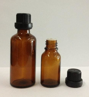 30ml Amber Dropper Glass Bottle - Body Care Glass Bottle
