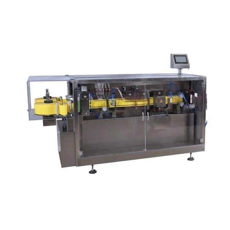 5 filling heads ampoule sealing packing machine line