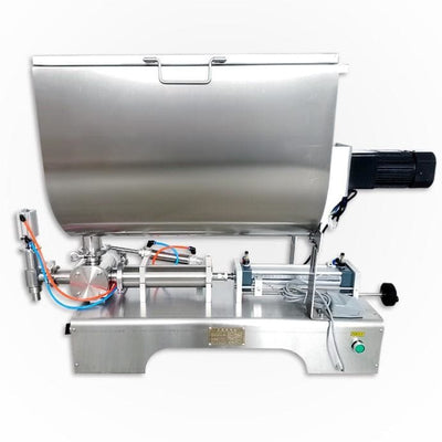 500 - u stir sauce filling machine - The Bottle Filling and Packing Machine