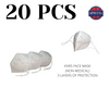Qty20 KN95 Face Masks (Non-Medical)